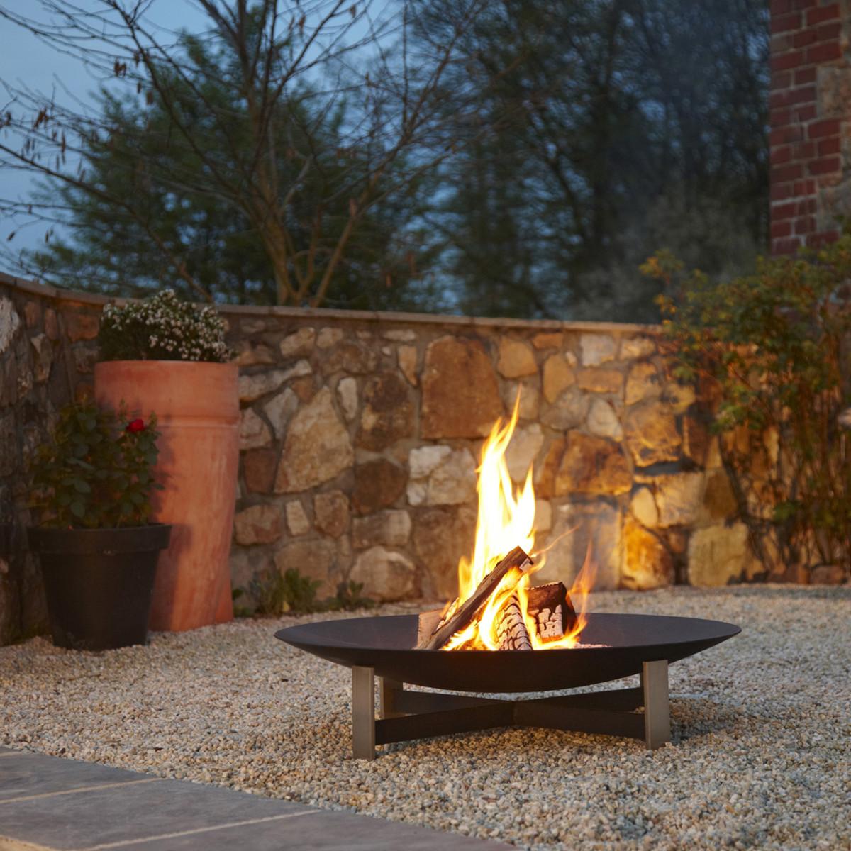 Feuerstellen Garten: Artepuro ® Feuerstelle 'Sunset'