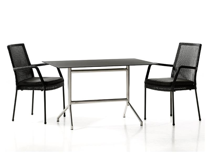 cane line newport sessel mit armlehne 3 garten wohnen. Black Bedroom Furniture Sets. Home Design Ideas