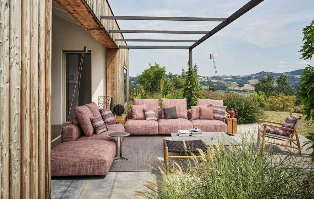 Flexform Lounge Garten Wohnen XL