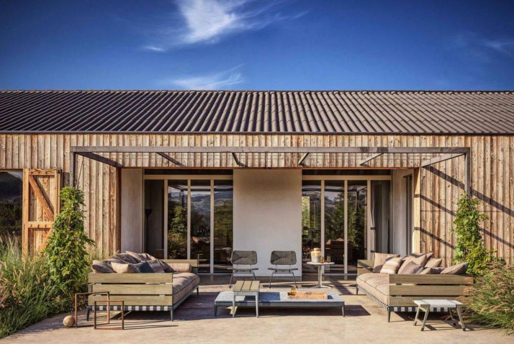 Flexform Lounge Garten Wohnen